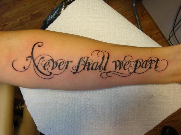 ca28fa348 30+ Cool Cursive Tattoo Fonts Ideas - Hative