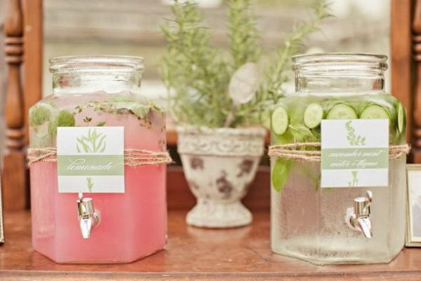 diy mason jar drink dispenser 12