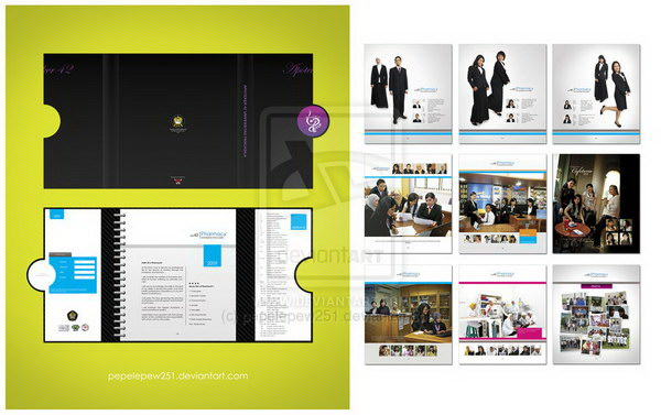 30+ Beautiful Yearbook Layout Ideas - Hative