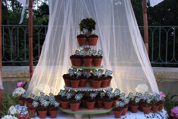 Wedding Flower Pot Centerpiece Ideas: Diy flower pot favors and ...