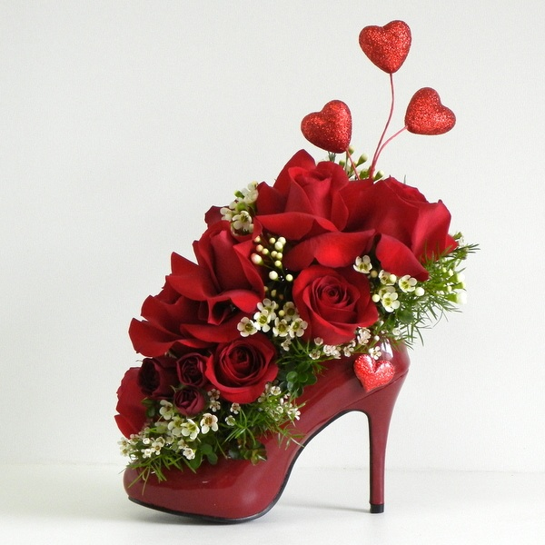 Images Of Flower Arrangements Entrancing With Valentine's Day Flower Arrangement Ideas Photo