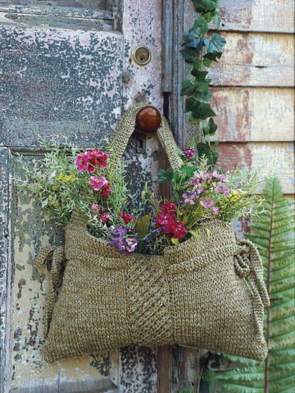 40 creative flower arrangement ideas hative Ideas for hanging backpacks