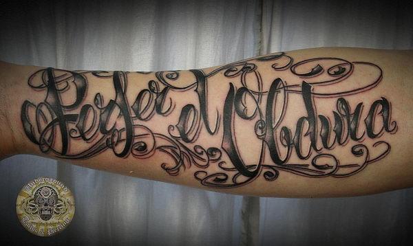 chicano script latin tattoo 27