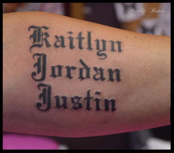 60 Cool Tattoo Fonts Ideas Hative