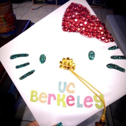uc berkeley graduation cap decoration idea 47