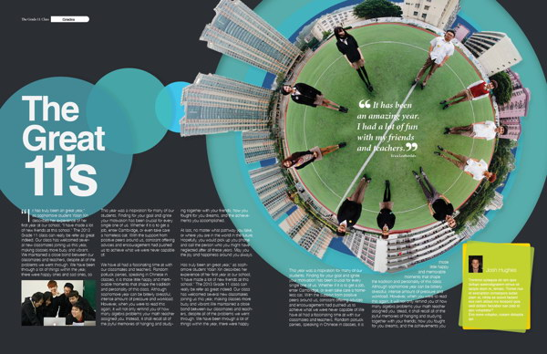 layout design for schools yearbook 7 - Yearbook Design Ideas
