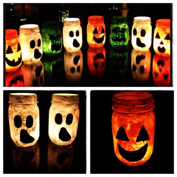 diy halloween jar luminaries 22