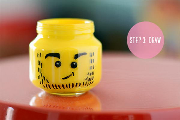 diy lego pencil holder 4