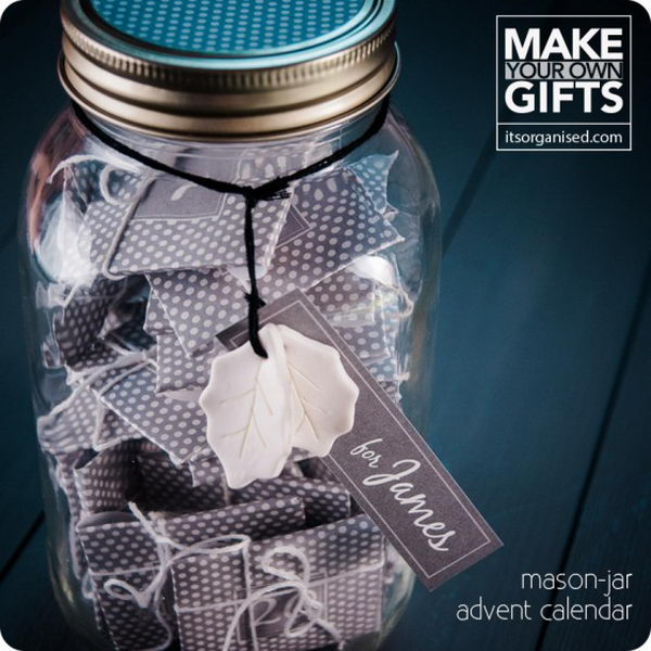 mason jar advent calendar 45