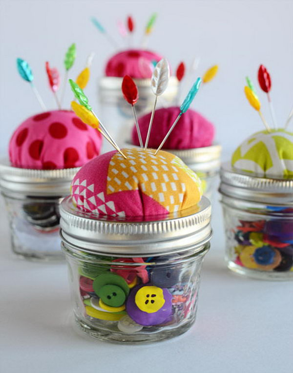 mason jar pin cushion 25