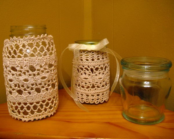 textile covered mason jars 27
