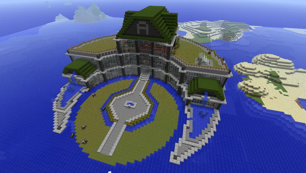 City With Beach Minecraft