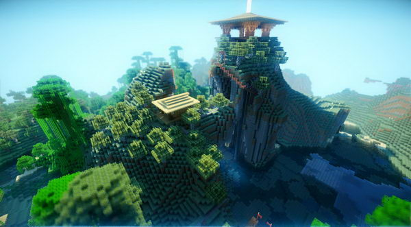 minecraft shrine