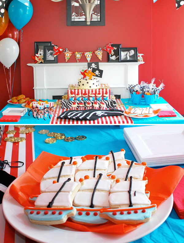 a pirate birthday playdate 13