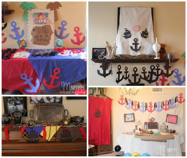 never land pirates style birthday party 2