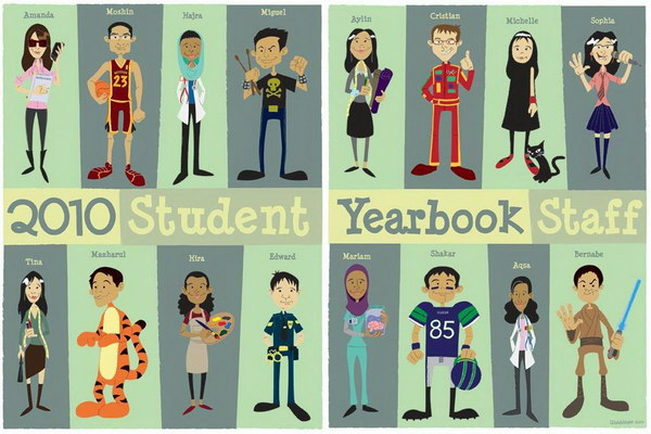 student yearbook layout design 43 - Yearbook Design Ideas