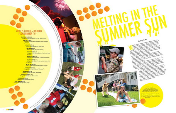 yearbook layout idea 47 - Yearbook Design Ideas