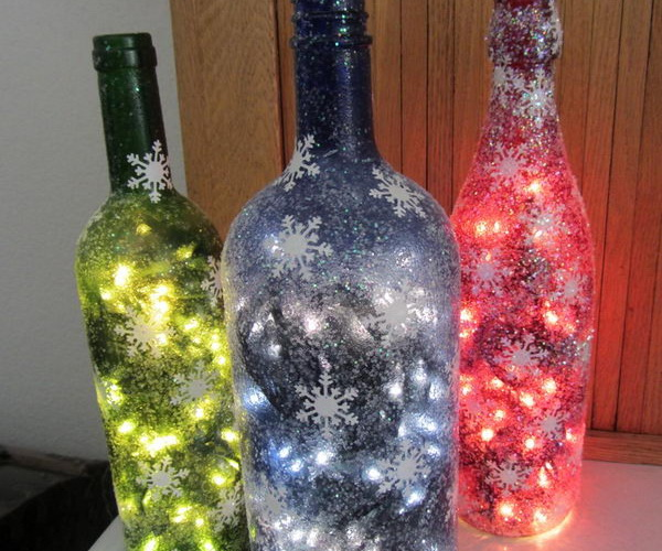 Wedding Lights Ideas: 80+ Homemade Wine Bottle Crafts