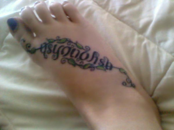 as you wish on foot tattoo 24