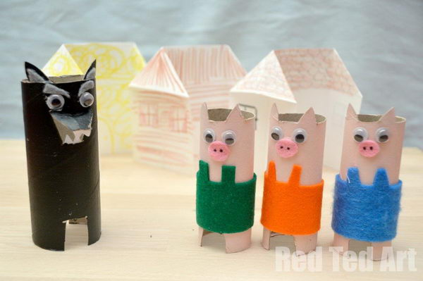 35 3 little pigs