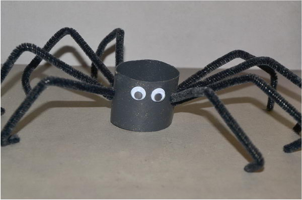 49 halloween spider craft