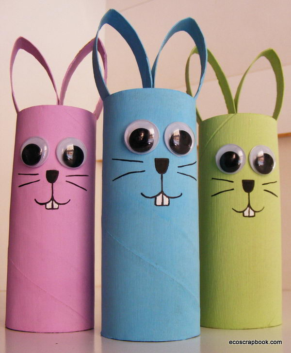 6 easter kids craft   bunnies
