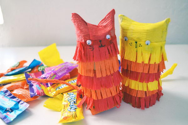 60 diy mini kitty pinata