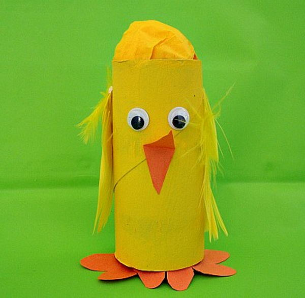 9 easter chick craft