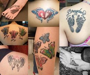 f468fac49 30+ Cute Baby Footprint Tattoos - Hative