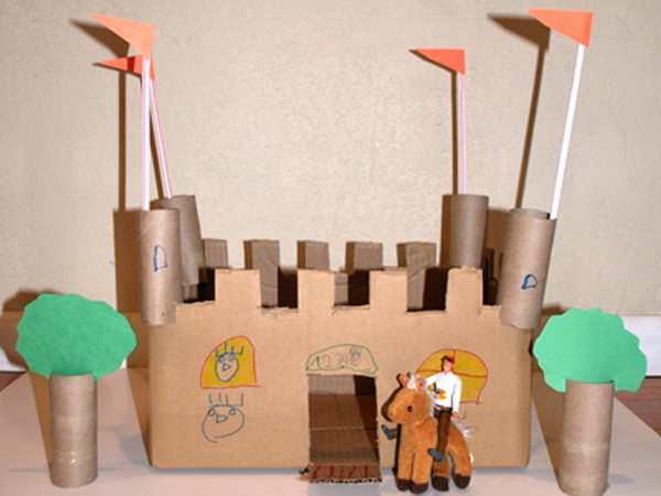 10 homemade building themed toilet paper roll crafts hative for Where to buy cardboard tubes for craft