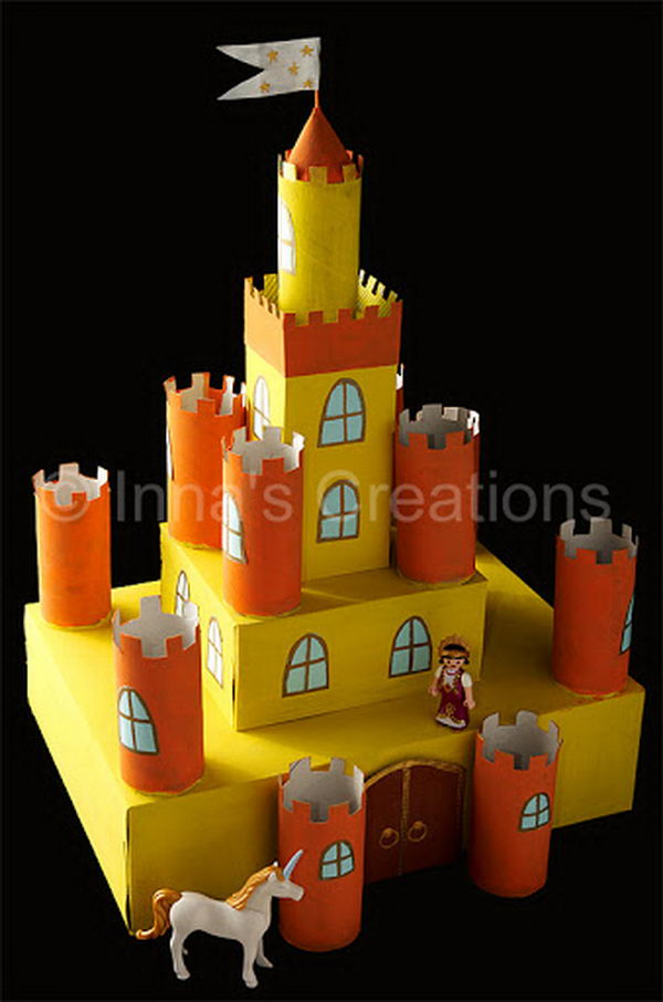 7 homemade castle craft