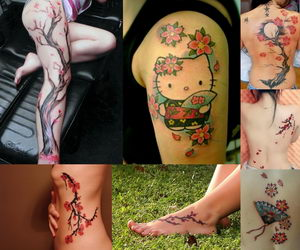 Cherry Blossom Tattoos Bloom with Many Meanings