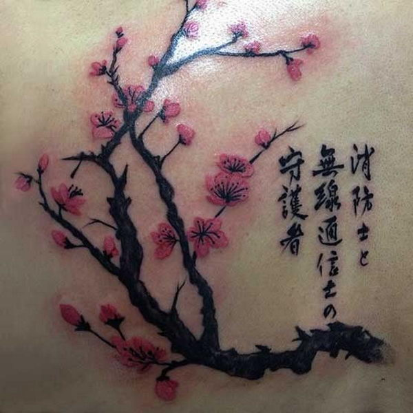 9 japanese cherry blossom tattoo