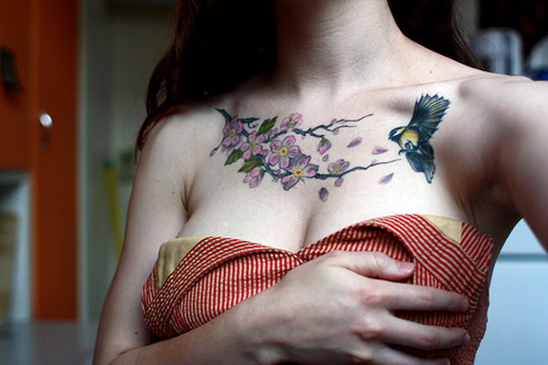 blossoms bird collarbone 31