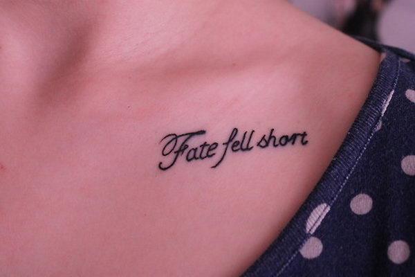 fate fell short collar bone 29