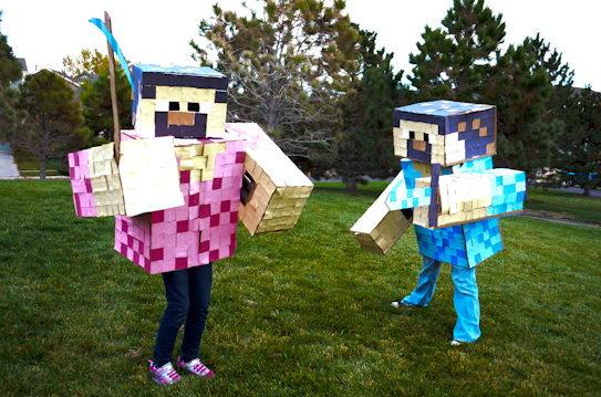 10 minecraft kid costume idea