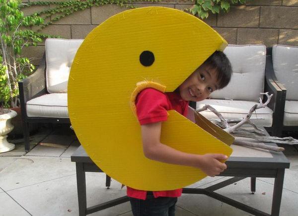 13 diy pacman kid costume idea