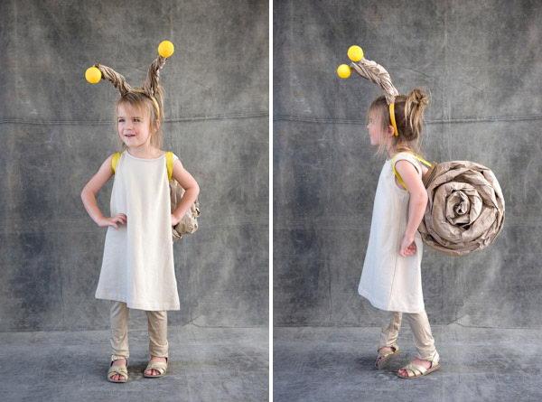 15 snail for kid costume