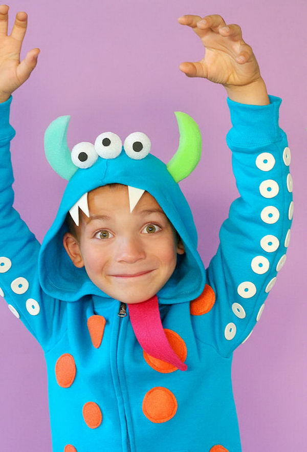 21 homemade monster costume kid