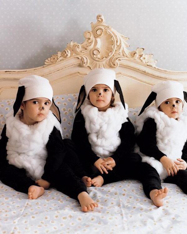 26 little lamb costume