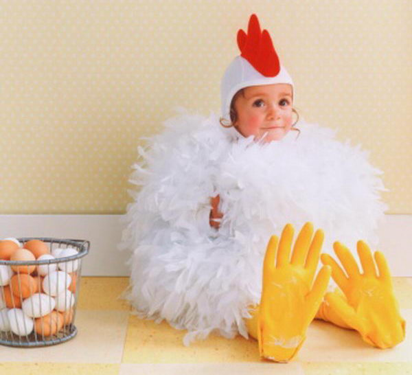27 chicken costume idea