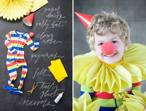 31 clown costume kid