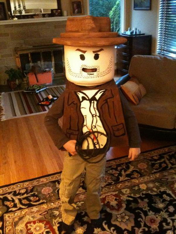46 lego indiana jones costume