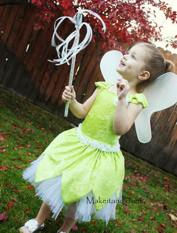 49 tinker bell costume little girl