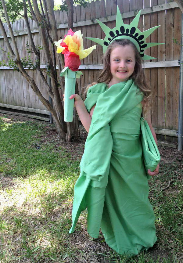 5 statue of liberty costume