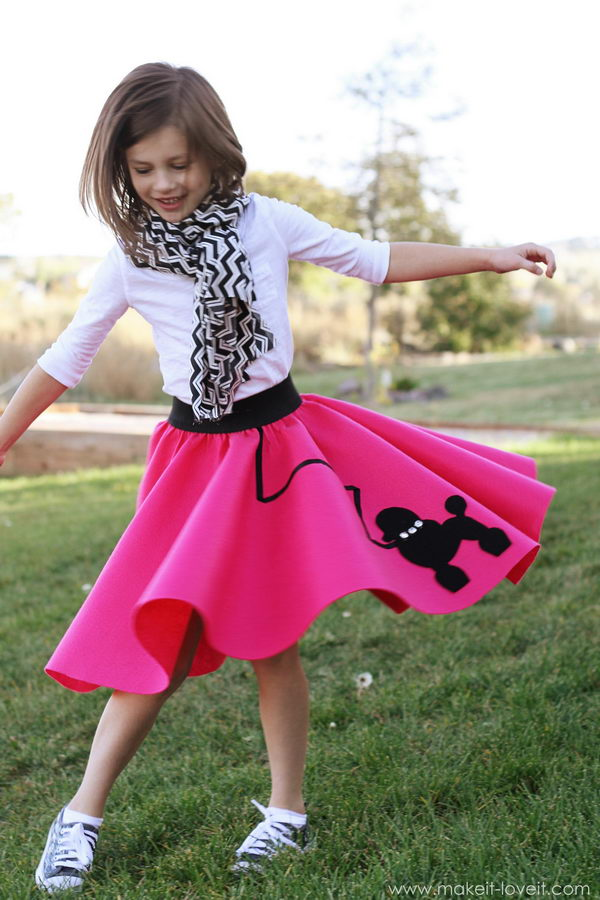 51 easy pink poodle skirt