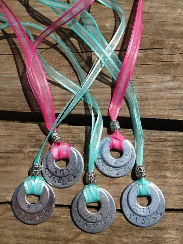 13 troop necklaces girl scout swaps