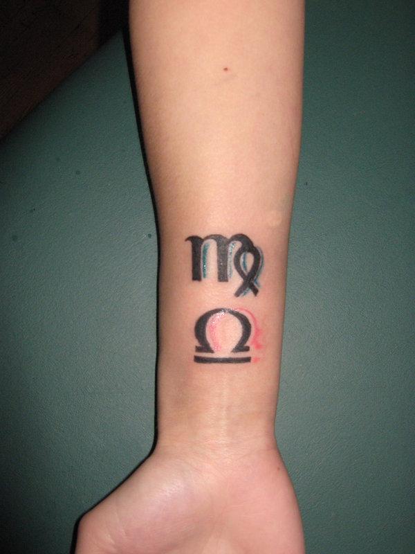 16 libra virgo zodiac symbols