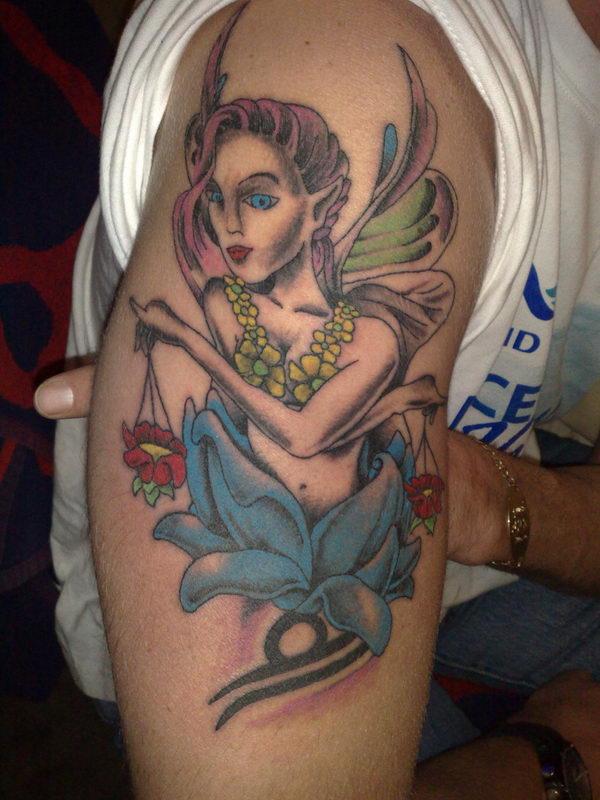 17-traditional-libra-tattoo-arm
