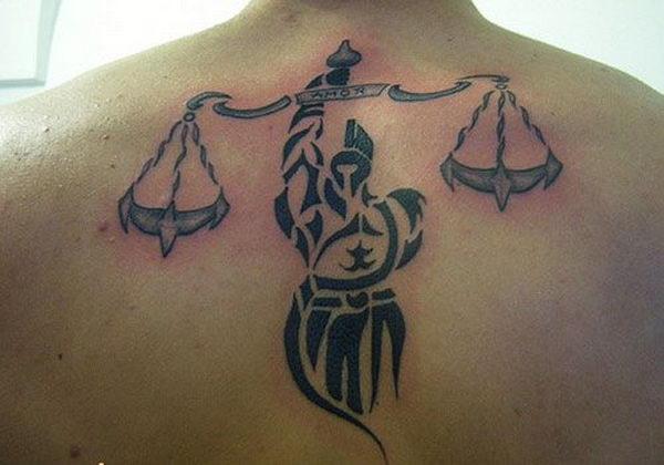 30+ Cool Libra Tattoo Designs - Hative